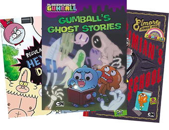 Cartoon Network books by Eric Luper
